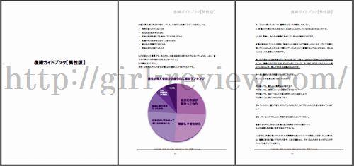 石川美香さんの恋愛系情報商材「復縁ガイドブック:男性版」テキスト